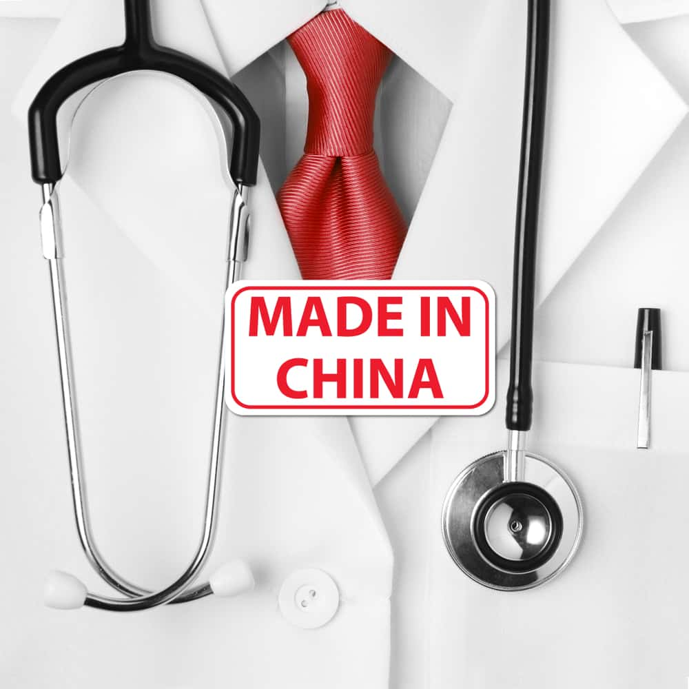 comment importer equipement medical chine