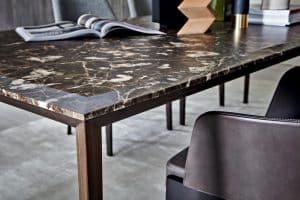 table à manger marbre