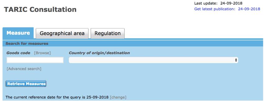 dedouanement hs code tarif