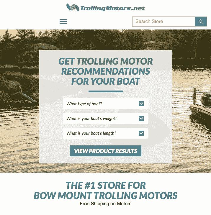 Site Trolling Motors