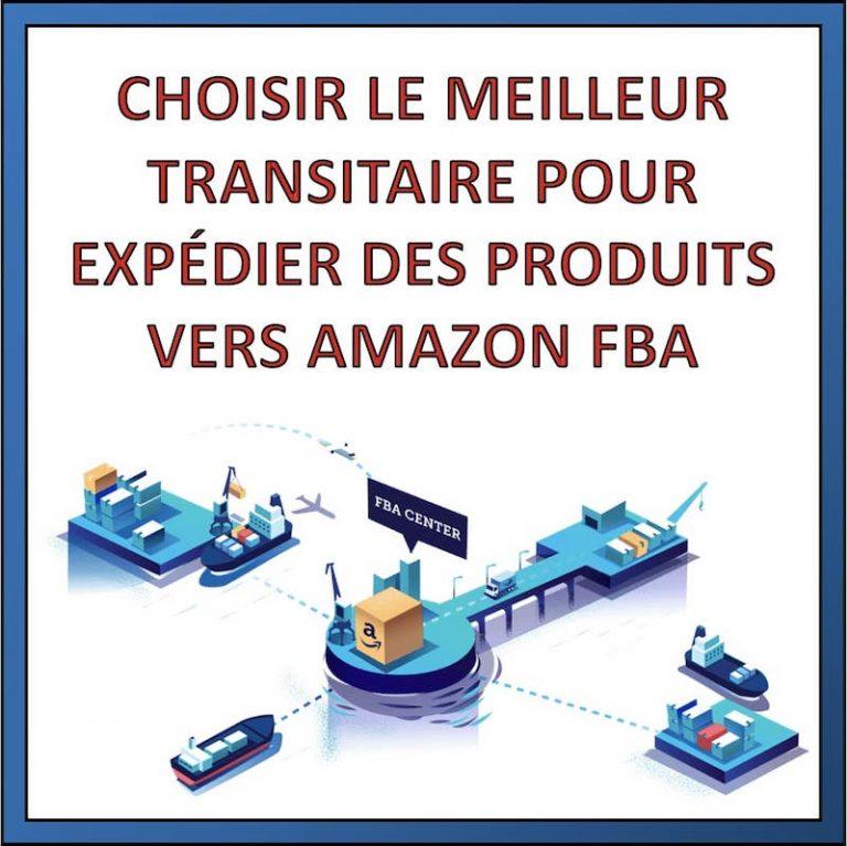 trouver société de transport amazon FBA