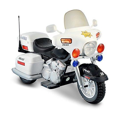 moto de police electrique 3 roues pour enfant