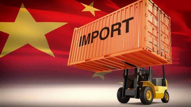 Importer-Chine