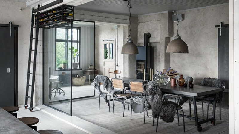 table style industriel